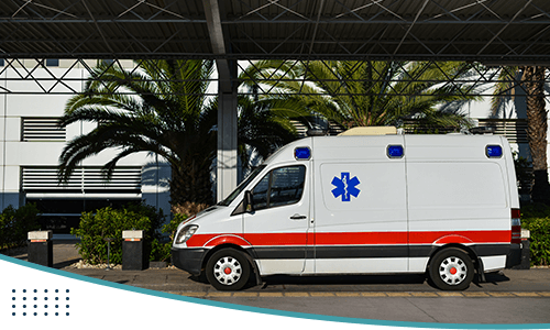 ambulance-parked